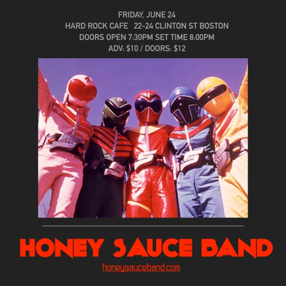 honey sauce band Hard Rock flyer.001